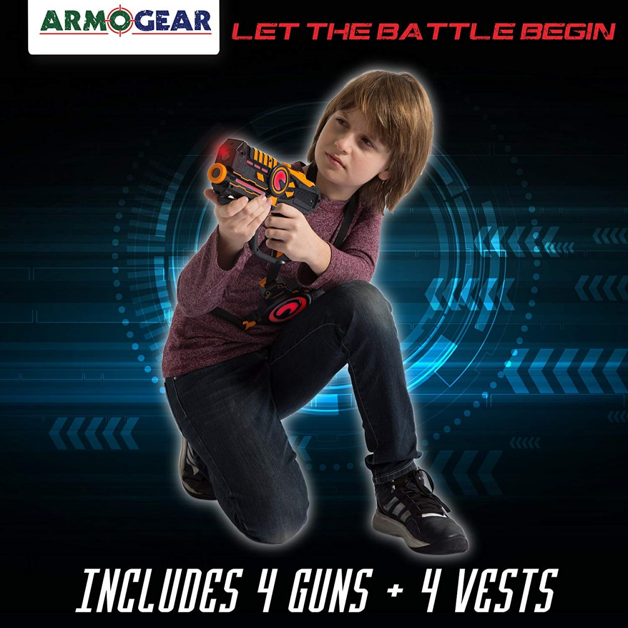 Armorgear Laser Tag Blaster & Vest Set