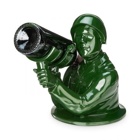 Army Man Bazooka Wine Bottle Holder