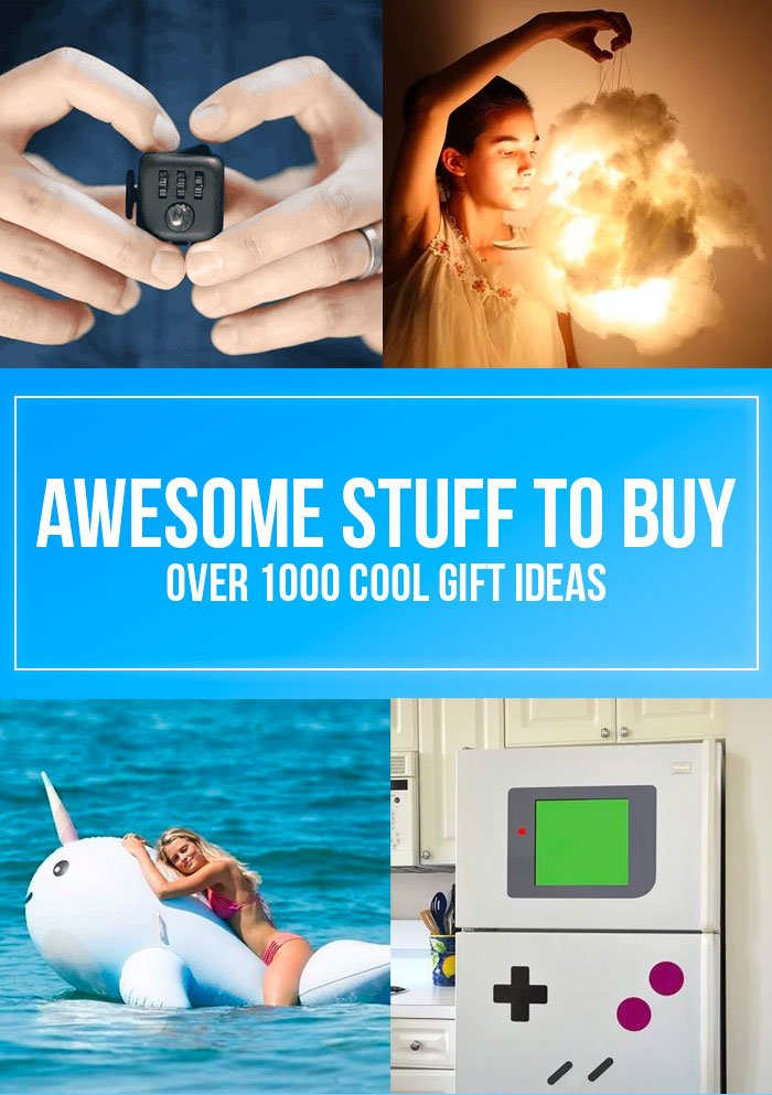 Awesome Stuff to Buy // Over 1000 Cool Gift Ideas