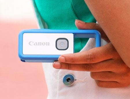 Canon IVY: Clippable, Go Anywhere Camera