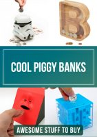 Cool Piggy Banks // Awesome Stuff to Buy