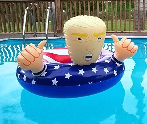 Donald Trump Pool Float