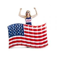 Giant American Flag Pool Float