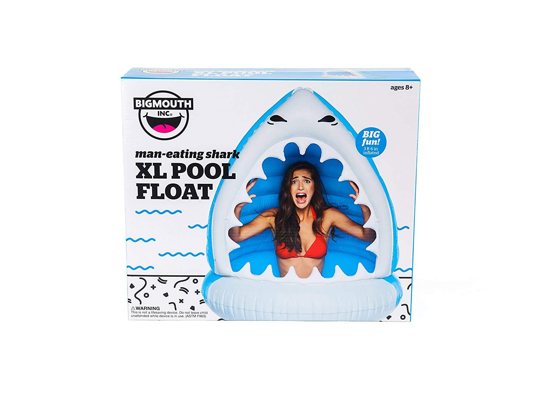Giant Shark Pool Float
