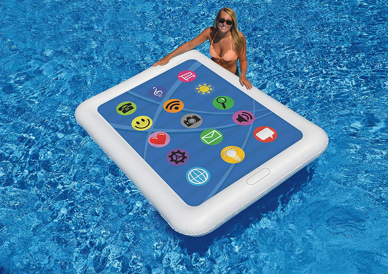 Tablet Pool Float