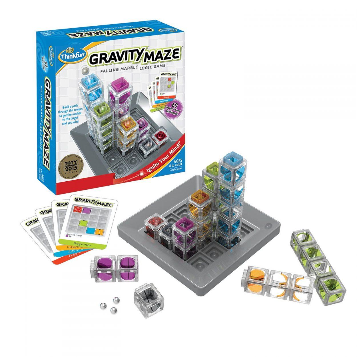 ThinkFun Gravity Maze Marble game
