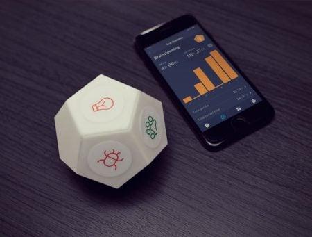 TimeFlip2: Interactive Time Tracker