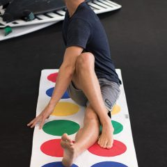 Twister Yoga Mat Towel