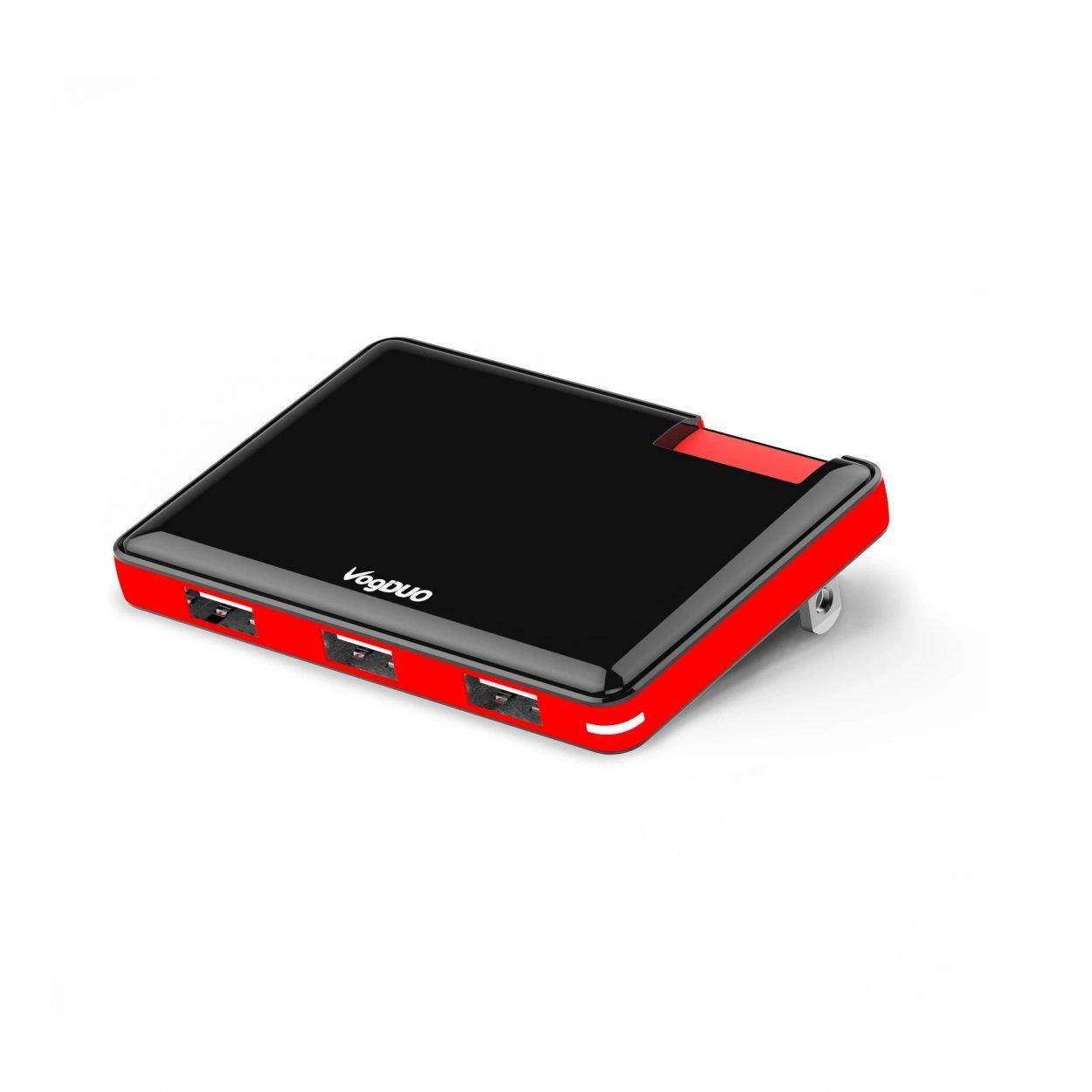 Ultra slim 3-USB-Port Wall Charger