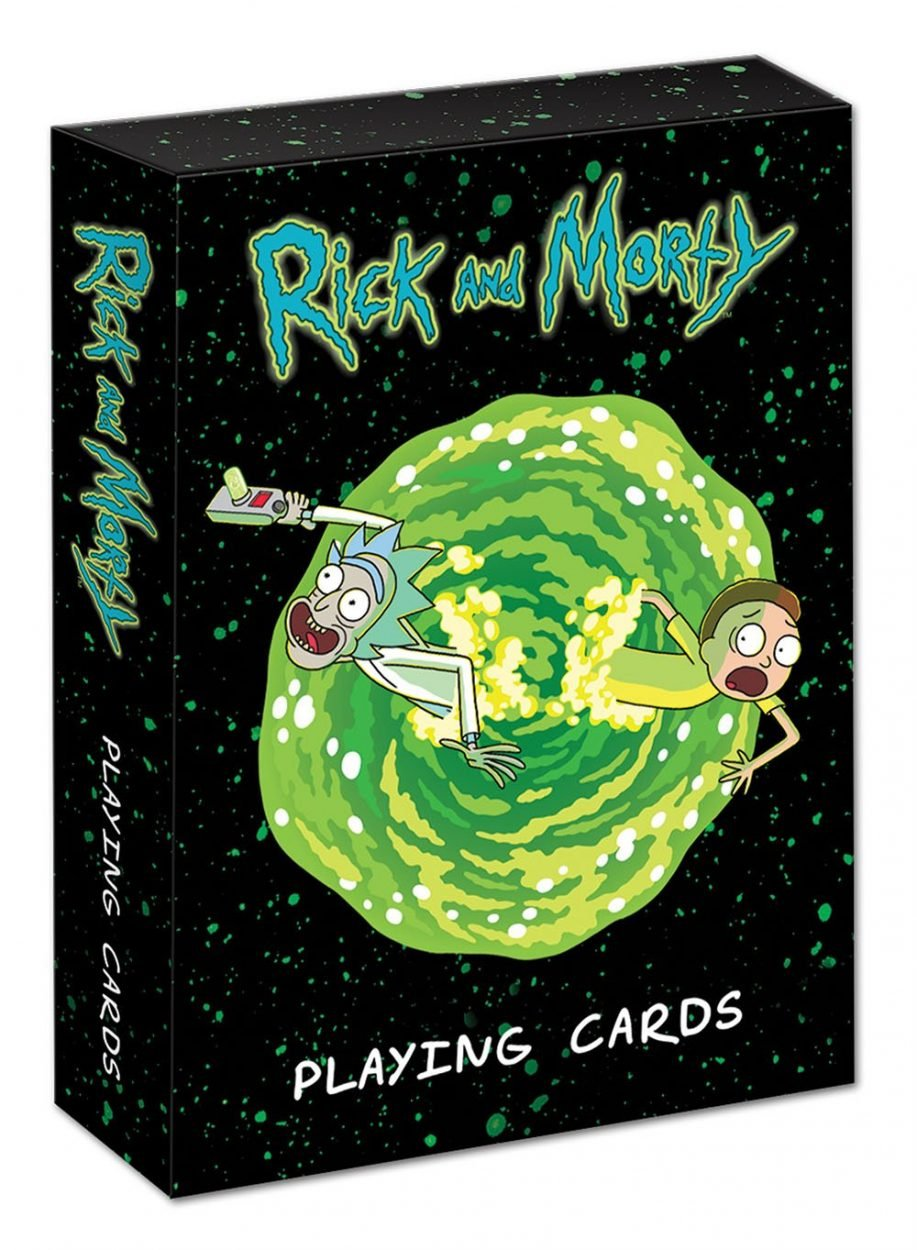 Rick & Morty Playing Cards
