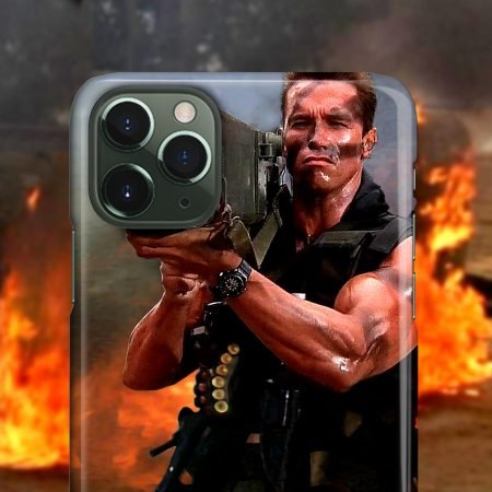 Arnold Commando Bazooka iPhone Case