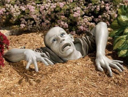 Lawn Zombie Decoration