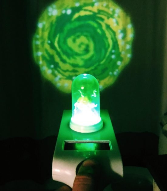 Rick And Morty Light Up Portal Gun
