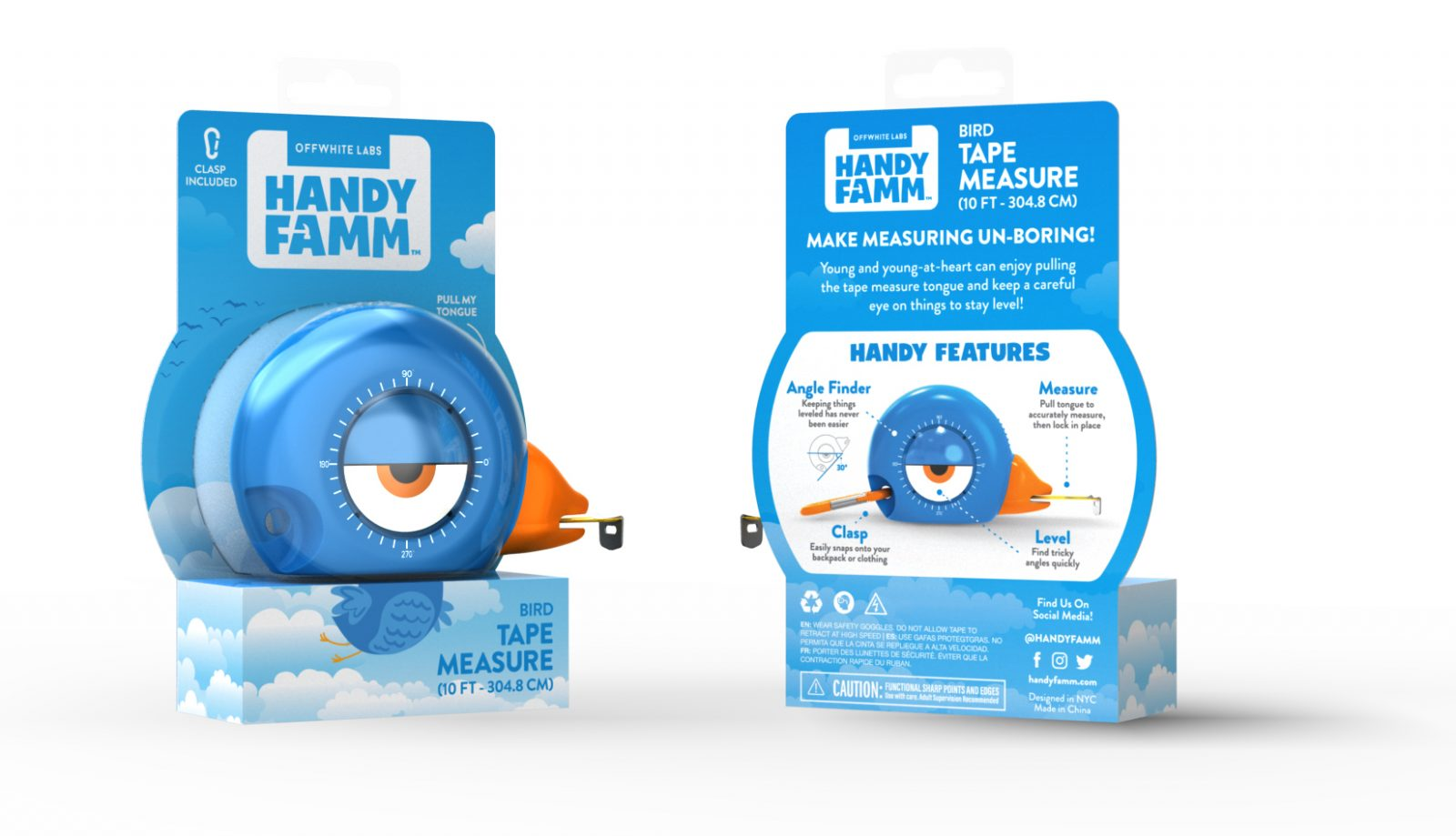 Handy Famm: Tape Measure for Kids