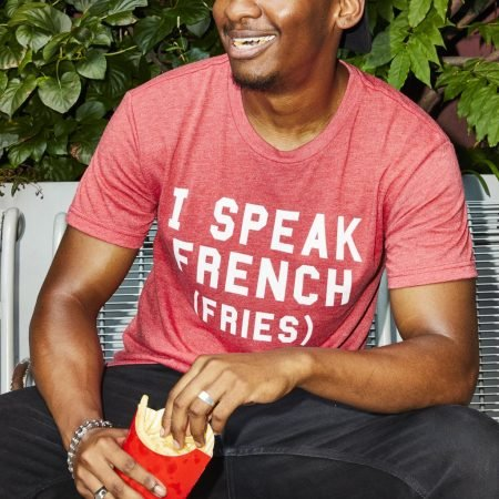 I Speak French (Fries) T-Shirt