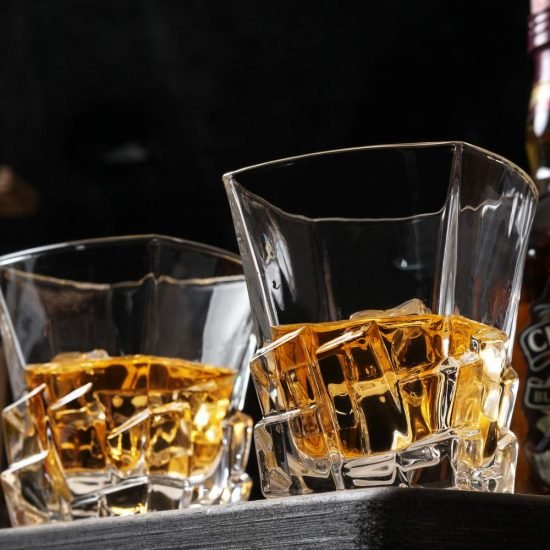 Iceberg Whiskey Glass Set