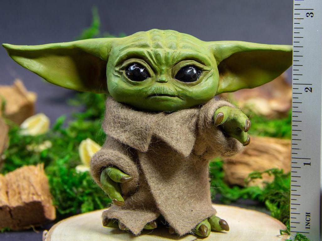 Baby Yoda Doll