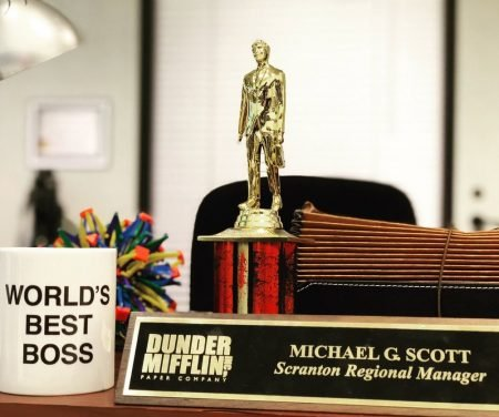 Custom Dundie Award