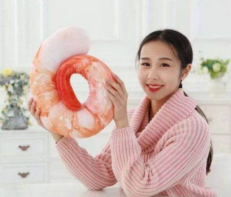 Giant Shrimp Neck Pillow