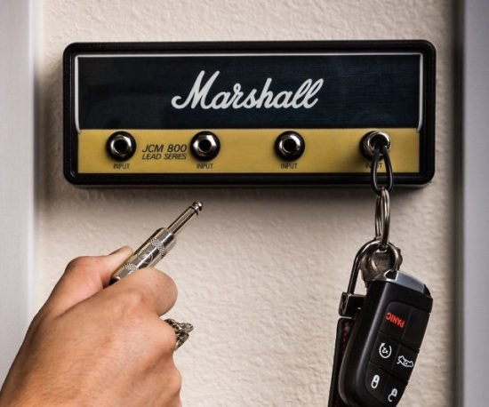 Guitar Amp Key Holder