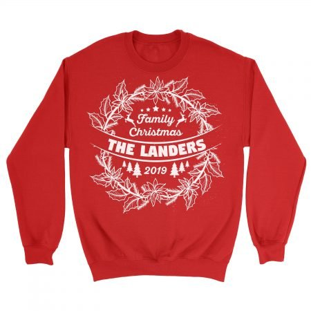 Personalized Family Christmas Sweaters