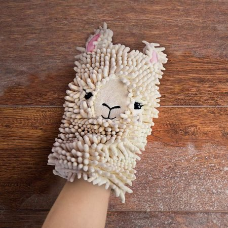 Llama Dusting Mitt