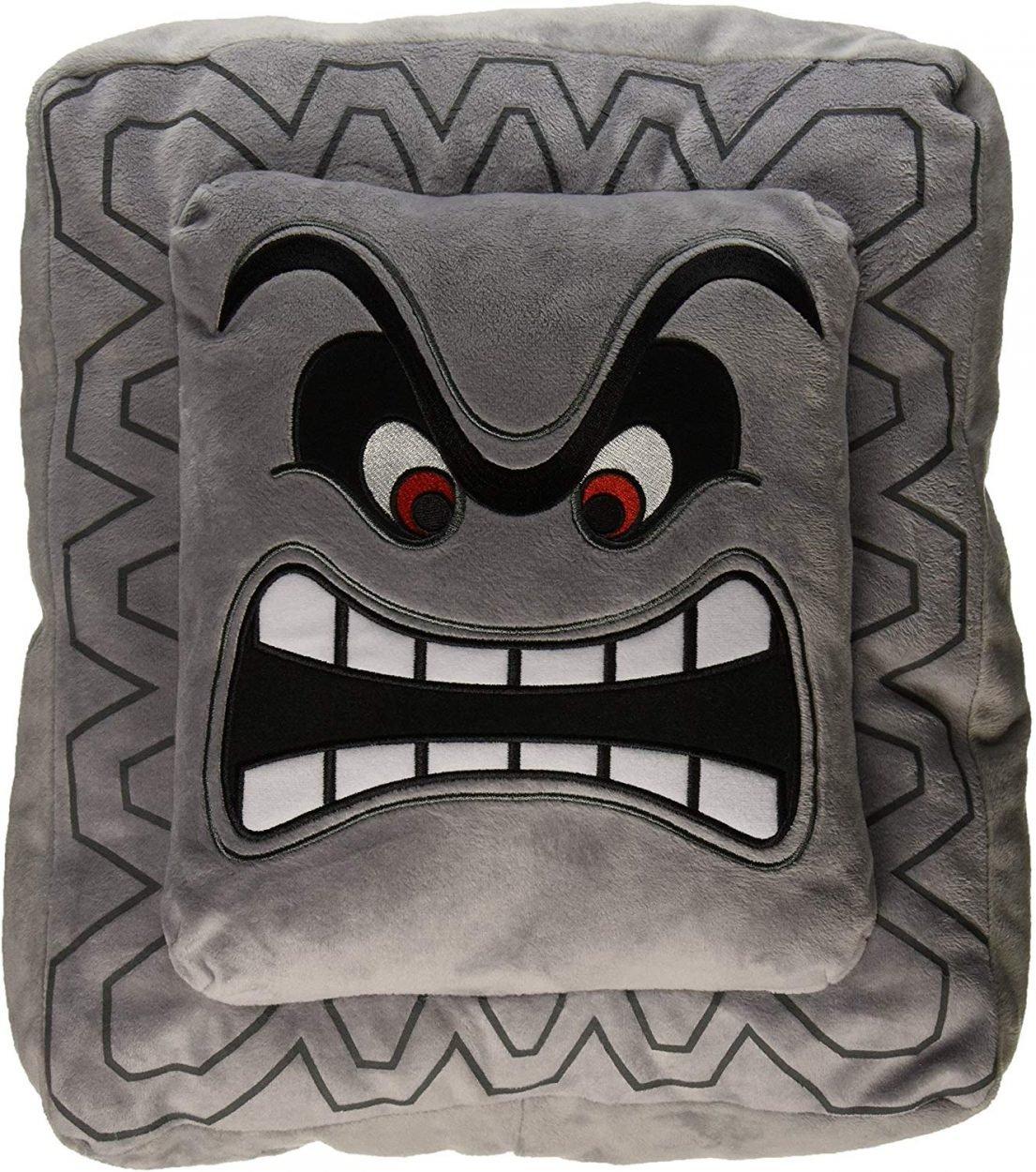 Mario Thwomp Pillow