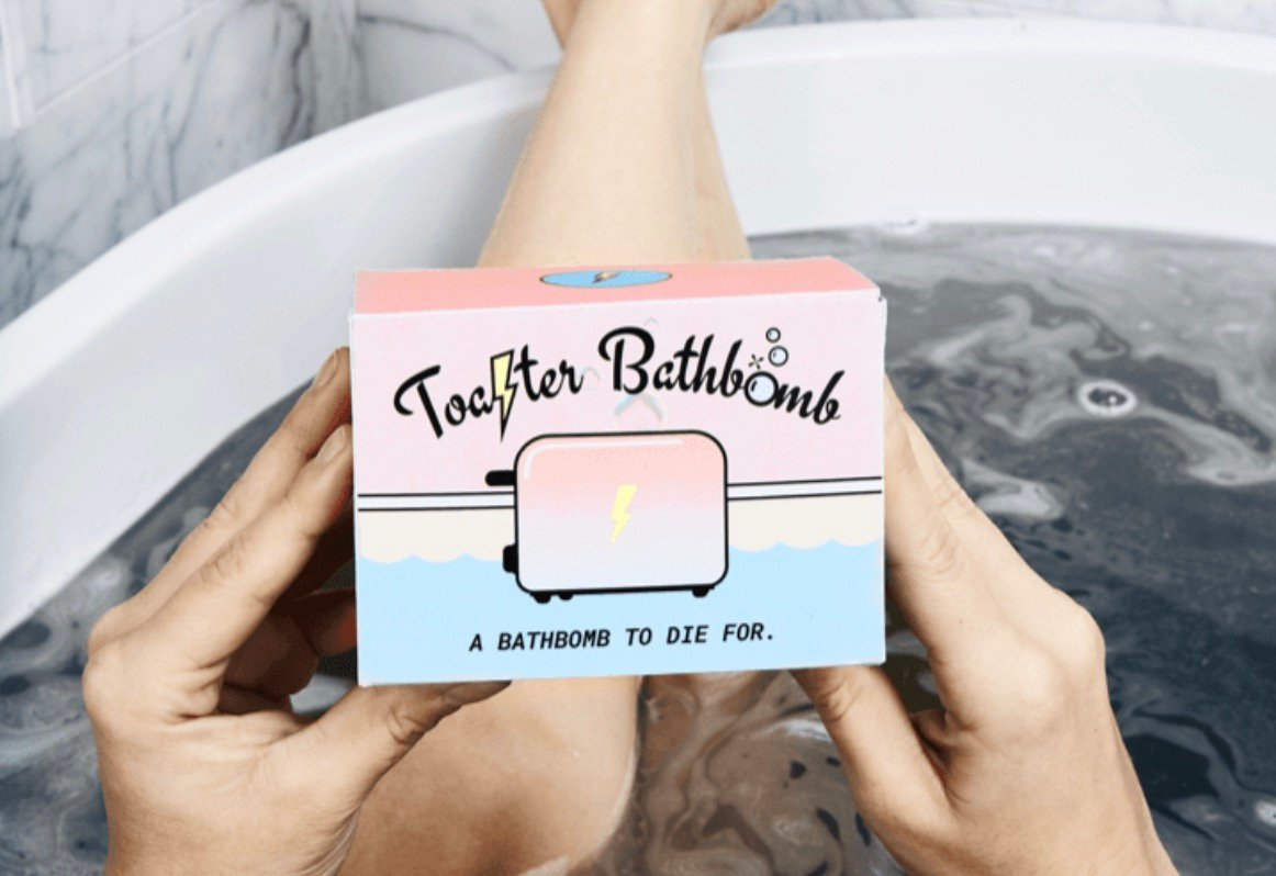 Toaster Bath Bomb