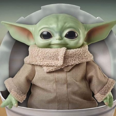 Baby Yoda Plush Doll