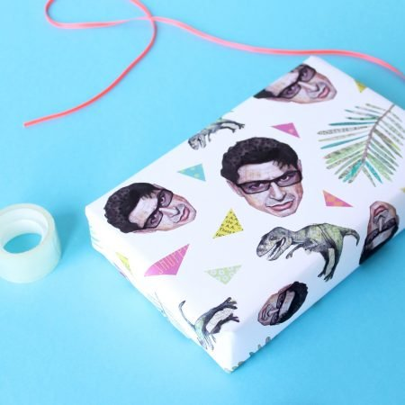 Jeff Goldblum Wrapping Paper