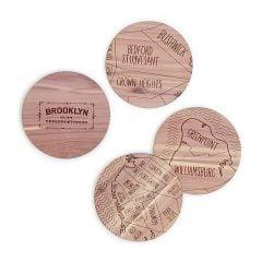 Neighborwoods Map Coasters