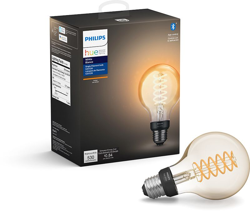 Philips Hue Edison Filament Smart Bulbs