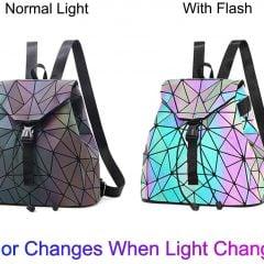 Geometric Luminous Backpack