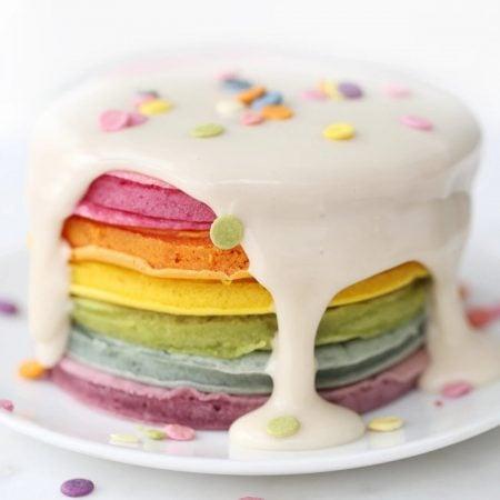 Rainbow Pancake Kit