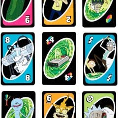 Rick And Morty Uno
