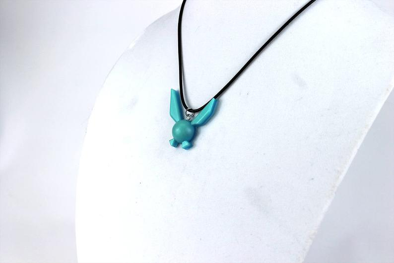 Zelda Navi Glow In The Dark Necklace