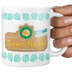 Personalized Animal Crossing Mug
