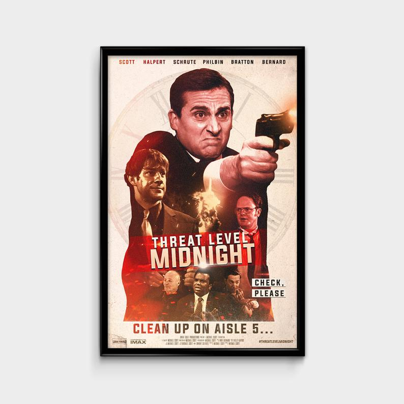 Threat Level Midnight Movie Poster