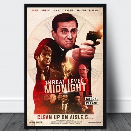 Threat Level Midnight Movie Poster