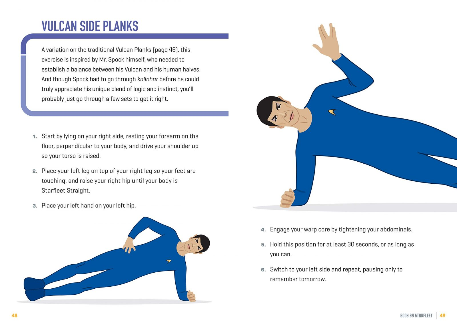 Body By Starfleet: A Fitness Guide