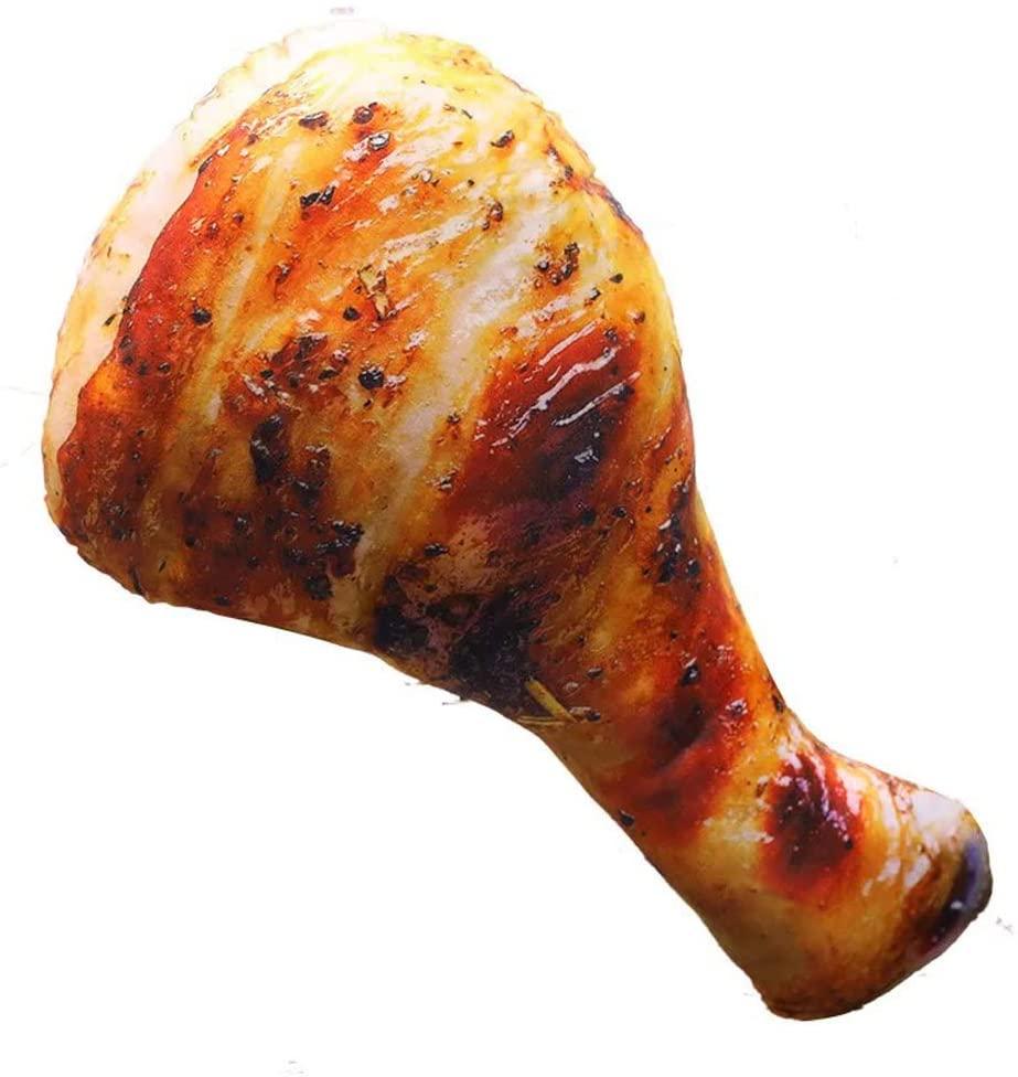 Fried Chicken Leg Pillow