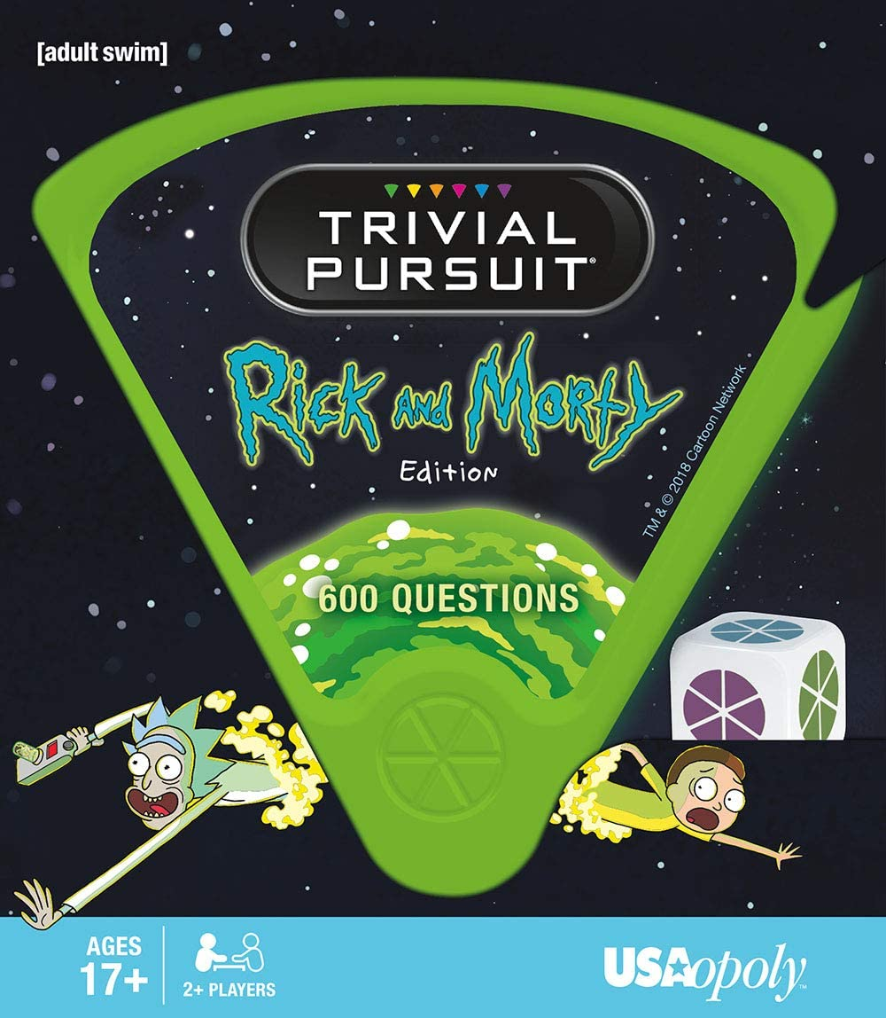 Rick And Morty Trivial Pursuit