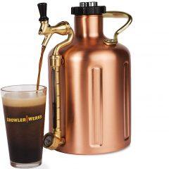 GrowlerWerks Copper Mini Keg