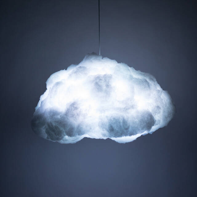 Interactive Cloud Lamp
