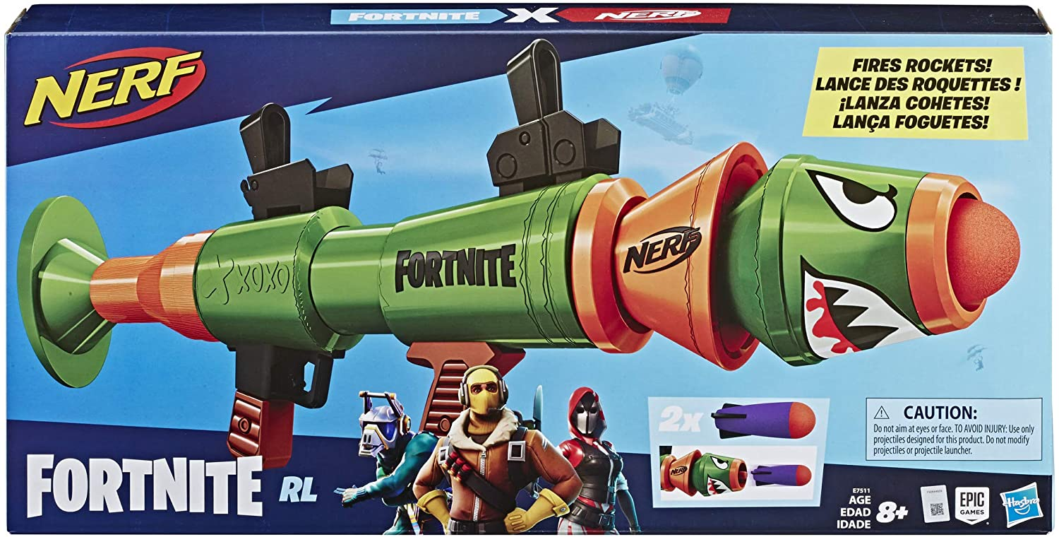 NERF Fortnite Rocket Launcher