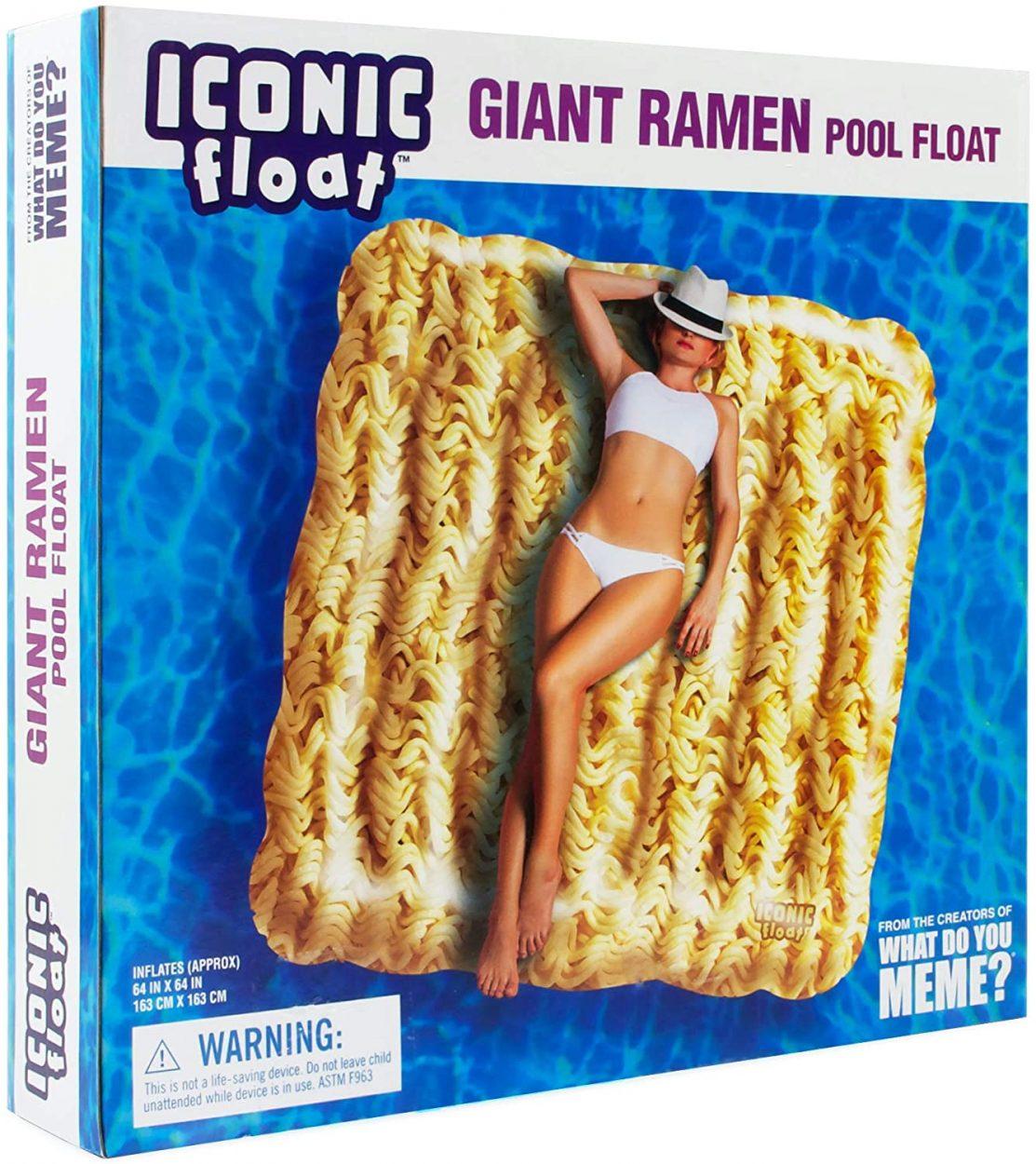 Ramen Noodle Pool Float