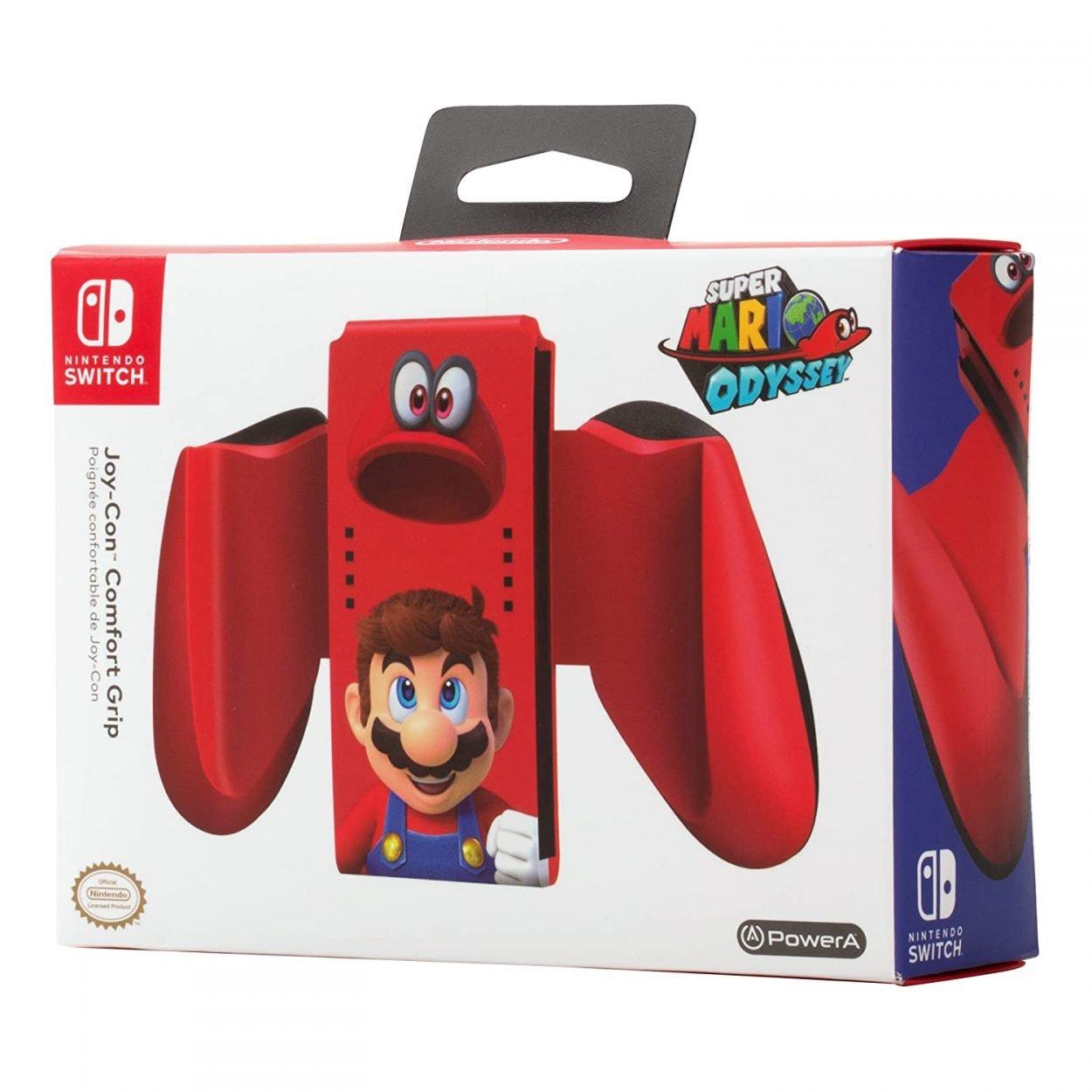 Super Mario Odyssey Joy-Con Comfort Grip Nintendo Switch