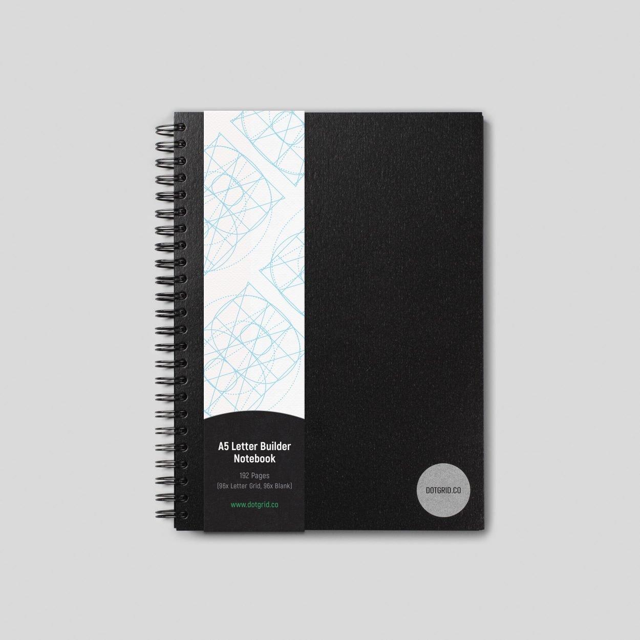 A5 Letter Builder Notebook