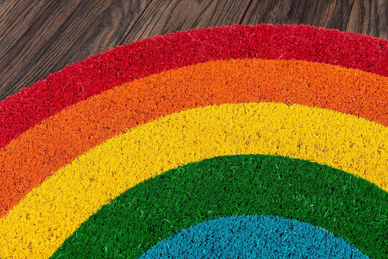 Aloha Rainbow Doormat
