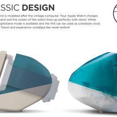 Retro iMac Apple Watch Stand